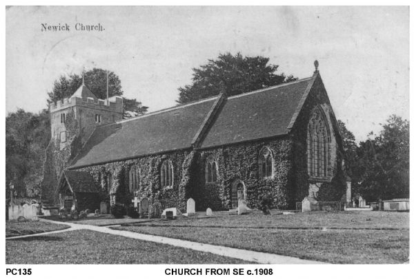 Church from South East cica 1908