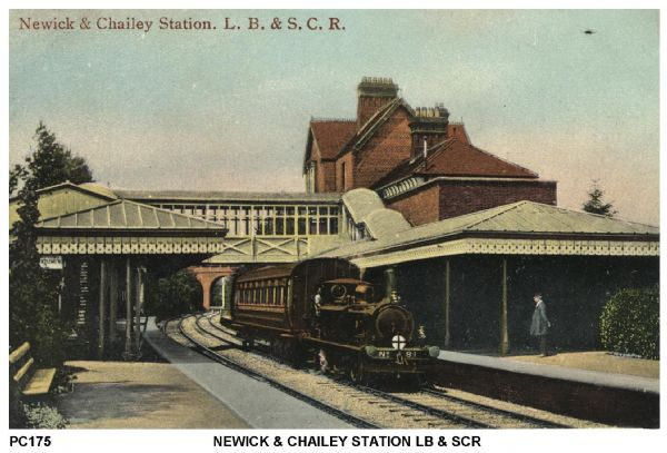 Newick and Chailey Station LB & SCR