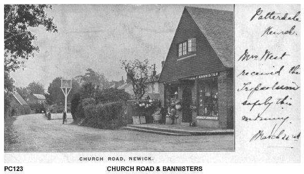 Church Road and Bannisters