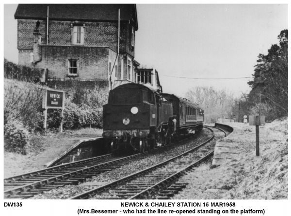 Newick and Chailey Station 15 March 1958